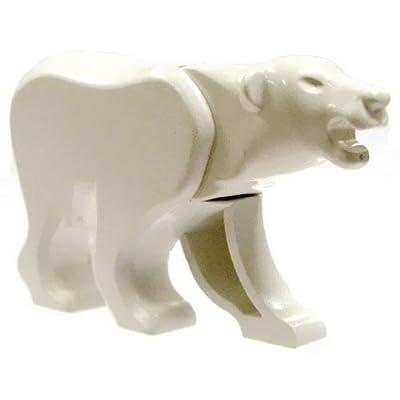 Polar Bear - LEGO Animal Figure: Toys & Games