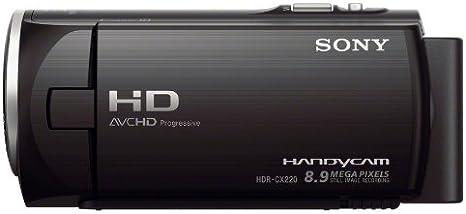 Sony Hdr Cx220eb Hd Flash Camcorder 50p Schwarz Kamera