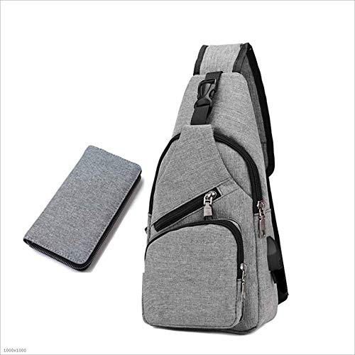 Chest In Xiaoqin Bags Small Bag Travel Men's Suitable Leisure Casual Messenger Set 2 1 Shoulder Waist xqwBEwaUY