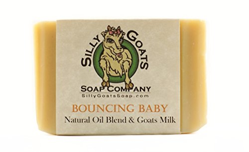 Handmade Goats Milk, 'Bouncing Baby' Soap