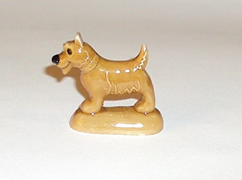 Wade Whimsies 2009 Gingerbread Family Series Scotty Dog Figurine
