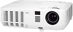 "NEC NP-V260, 2600 Lúmenes del ANSI, DLP, SVGA (800x600), 838.2 - 7620 mm (33 - 300 ""), 1.2 - 12 m, 2000:1"