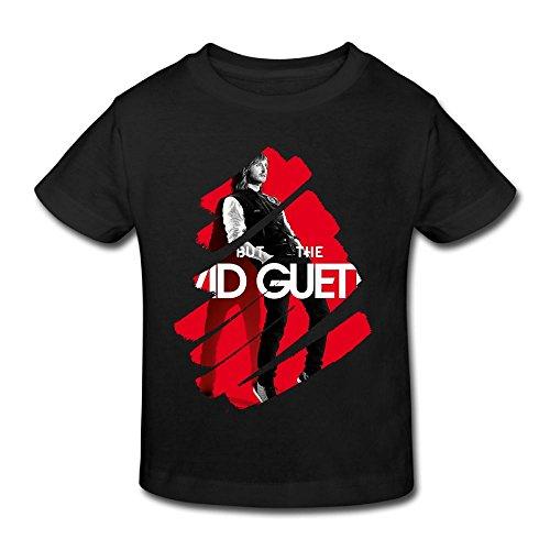 Danielle David Guetta Kid's T Shirt For Girls & Boys T Shirt Black 2 Toddler (Best Memories David Guetta)