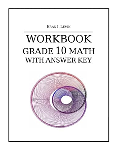 Amazon com: Workbook - Grade 10 Math with Answer Key
