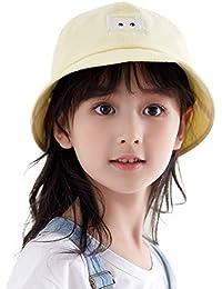 Boys Packable Sun Bucket Hat for Girls Beach Accessories Travel Bonnie Garden SPF Yellow