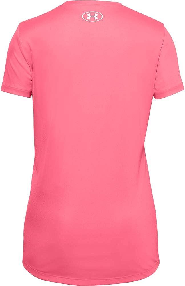 Under Armour Girls Big Logo Tech Short Sleeve Training Workout T-Shirt