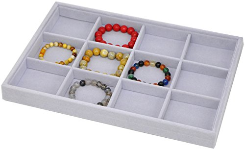 Stackable Jewelry Showcase Organizer Functional