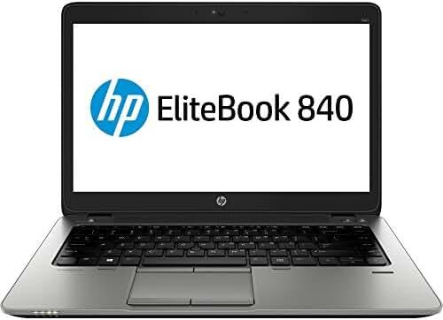 HP J4P68US EliteBook 840 G1 14 inch LED Notebook - Intel Core i7 i7-4600U 2.10 GHz - 4 GB RAM - 128 GB SSD - FreeDOS 32-