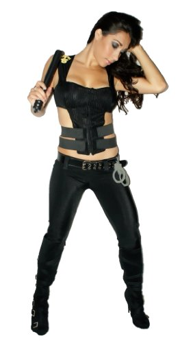 [Sexitu Swat F.B.I Costume (Small)] (Sexy Swat Team Costumes)