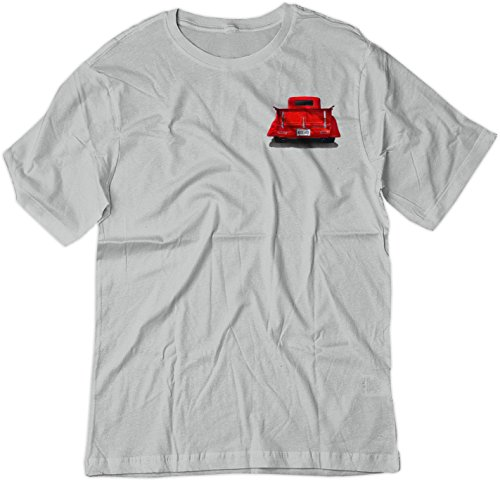 BSW Men's Nice Ass 1935 Ford Truck Hot Rod Crest Shirt XS - Pickup Ford 1935