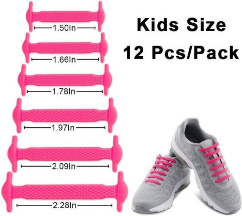 a1e4b3700433 HOMAR No Tie Shoelaces for Kids and Adults - Best in Sports Fan Shoelaces -  Waterproof