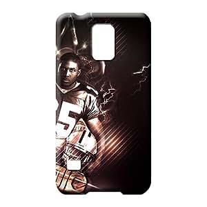 Samsung Galaxy S5cubiertas snap-on teléfono casos cubre Protector de pantalla para teléfono Carcasa nueva Orleans Saints nfl football logo