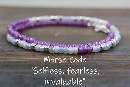 Selfless Fearless Invaluable Morse Code ()