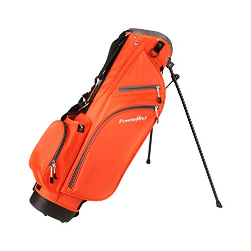 PowerBilt Junior Stand Bag (Ages 3-5), Orange ()