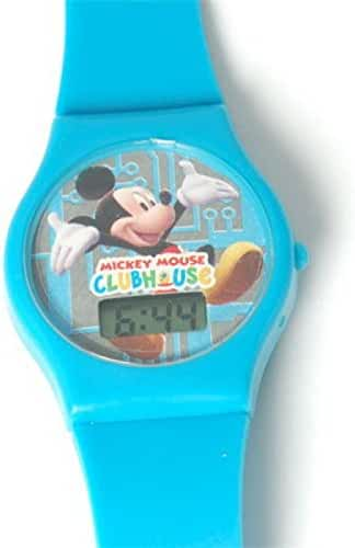 Disney Mickey Mouse Clubhouse Digital Blue Strap Kids Watch