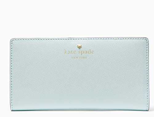 Kate Spade New York Mikas Pond Avenue Stacy Leather Wallet (Island Waters) by Kate Spade New York