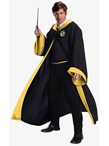 Charades Deluxe Adult Hufflepuff Student Costume Medium