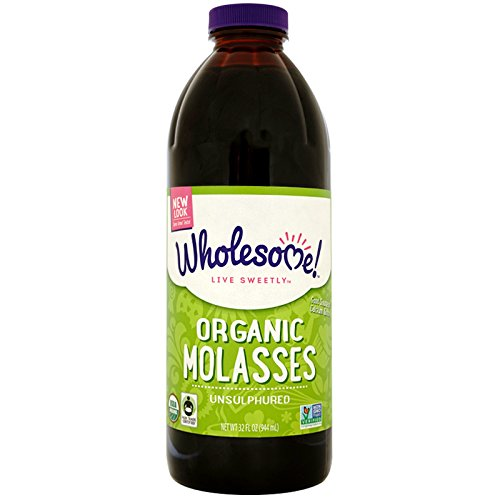 - Wholesome Sweeteners, Inc., Organic Molasses, Unsulphured, 32 fl oz (944 ml) Wholesome Sweeteners, Inc., Organic Molasses, Unsulphured, 32 fl oz (944 ml) - 2pcs