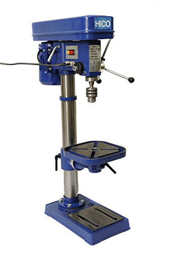 HICO Bench Top Drill Press - 10 Inch Height Adjustable,...