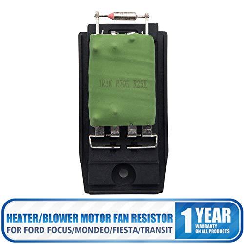 SUNWAN Heater Blower Automatic Motor Fan Resistor: