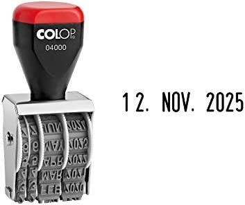 COLOP Datumstempel 04000 Monate in Buchstaben