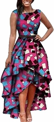 high low african print dresses - 7