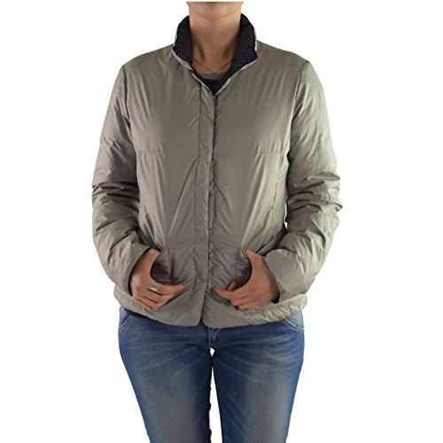 P Women's Grey Down blue C M grey Jacket O4x7d