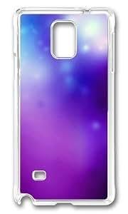 MOKSHOP Adorable Beautiful Dream 04 Hard Case Protective Shell Cell Phone Cover For Samsung Galaxy Note 4 - PC Transparent WANGJING JINDA