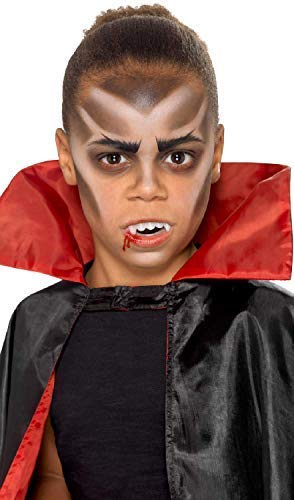Girls Boys Vampire Halloween Make Up Face Paint Special Effects With Applicators Fancy Dress Costume Outfit -