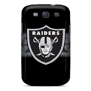 Samsung Galaxy S3 QJk12299fUIZ Unique Design Vivid Oakland Raiders Pictures Protective Hard Cell-phone Case -SherriFakhry