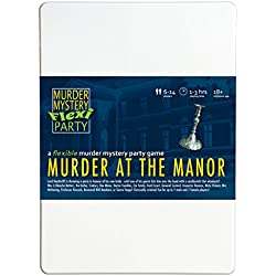 Murder Mystery Flexi Party Murder at The Manor 6-14 Player Dinner Party Game