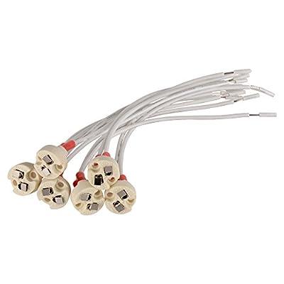 Onite MR16 MR11 Lamp Socket, Holder Common to: Miniature Bi-Pin Base, G4, G6.35, GY6.35, GX5.3 MR16, GZ4 MR11 Lamp Female Base Socket