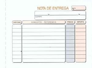 Talonario PRAXTON Notas De Entrega 8º Duplicado, Pack x10