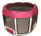 New BestPet Pet Dog Cat Tent Playpen Exercise Play Pen Soft Crate For Sale