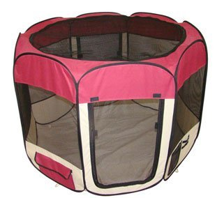 New BestPet Pet Dog Cat Tent Playpen Exercise Play Pen Soft Crate