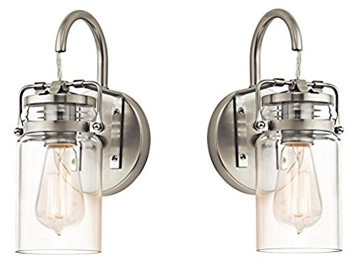 Kichler 45576NI Brinley 1-Light Wall Sconce and
