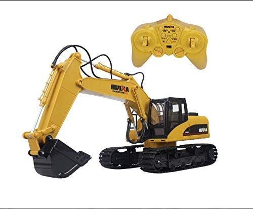 Excavator Simulation Oversized Full-channel Full-featured Remote-controlled Excavator Construction Tractor, All-metal Excavator Toy Can Carry Weighs 242 Kg, Digging Power Of Per Cubic Centimeter, True
