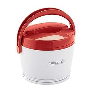 Crock-Pot SCCPLC200-R 20-Ounce Lunch Crock Food Warmer, Red