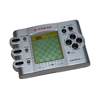 5Star-TD RadioShack Electronic Handheld Game - E-Chess - by Radio Shack Cat. No 60-2845: Toys & Games