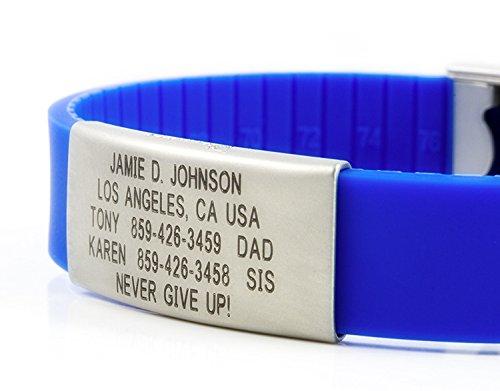 Road ID Bracelet - the Wrist ID Slim 2 - Identification - Import It