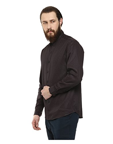 Yepme - Steve Party Shirt - Bleu & Marron