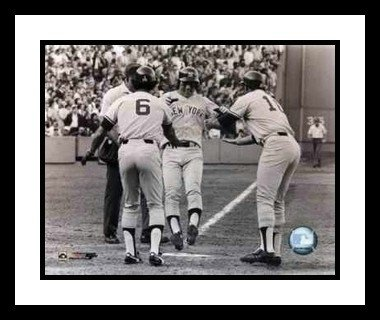 Bucky Dent Framed - Bucky Dent Framed 8x10 Photo - New York Yankees 1978 Game Winning HR Celebration