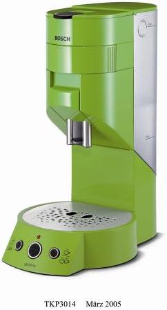 Bosch tkp3014 gustino Cafetera Pad Verde (nuevo modelo): Amazon.es: Hogar