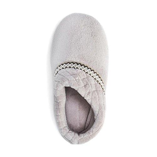 MUK Champagne Slippers Micro LUKS Chenille Women's Rita Foot Full rUrxg8