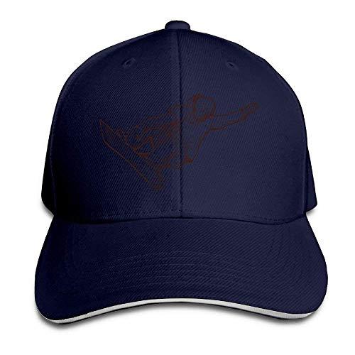 JHDHVRFRr Hat Skate Man Denim Skull Cap Cowboy Cowgirl Sport Hats for Men Women
