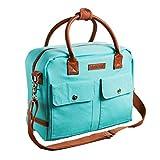 Fit & Fresh Margene Messenger Style Lunch Bag for...