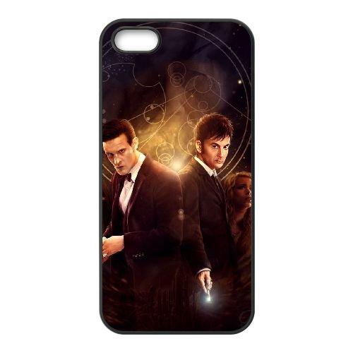 Doctor Who e anniversaire SX77DC3 coque iPhone 4 4s de téléphone cellulaire coque R4CG6H7XE