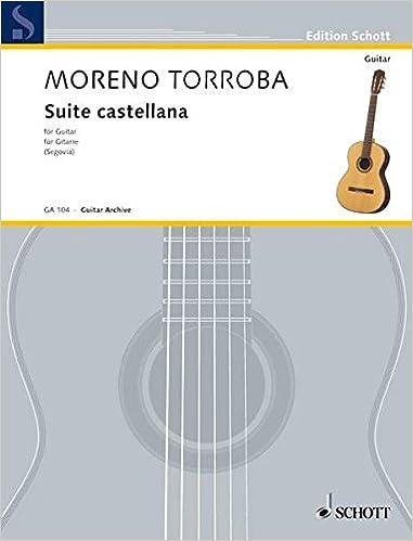 suite castellana guitar solo edition schott