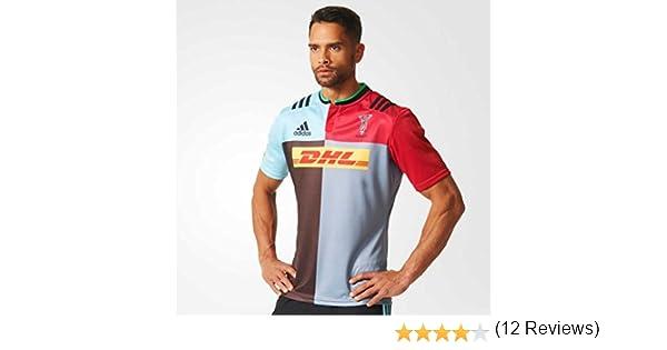 HARLEQUINS 2015/2016 Camiseta de Rugby Local Caballero, L: Amazon.es: Deportes y aire libre