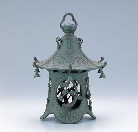竹中銅器 庭置物 利休梅 52-01   B00DKPBL6E